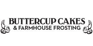 Buttercup Cakes & Farmhouse Frosting Logo